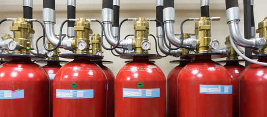 FM 200 suppression system can extinguish fire within 10 seconds